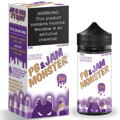 Jam Monster PB & Grape Jam 100 мл (3 Мг)