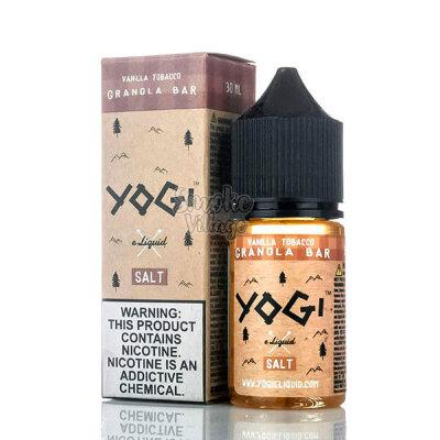 Yogi Salt - Vanilla Tobacco Granola Bar 30ml (35/50 mg)