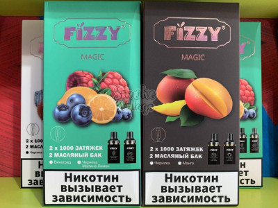 Fizzy Magic Pod Kit 2000 затяжек (13 вкусов)