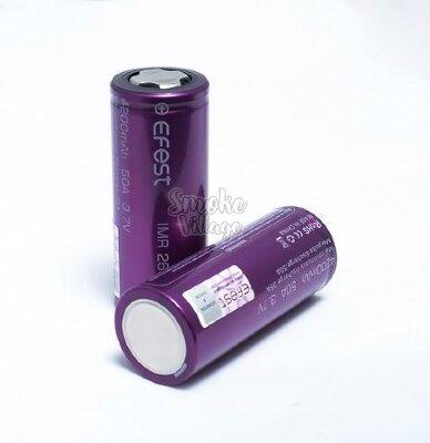 Аккумулятор Efest IMR26650 4200mah-50A EF-4200
