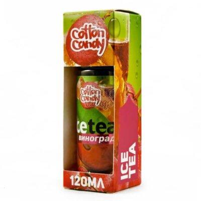 Cotton Candy - Ice Tea Виноград 0mg (120ml)