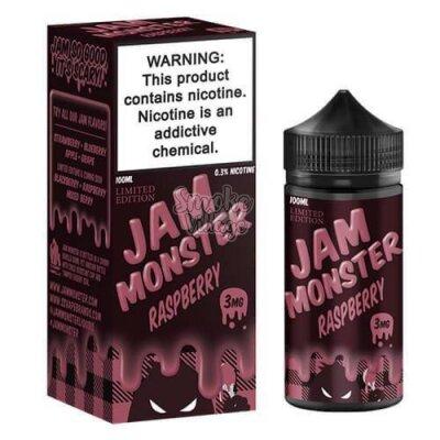Jam Monster Raspberry salt 30 мл (48мг)