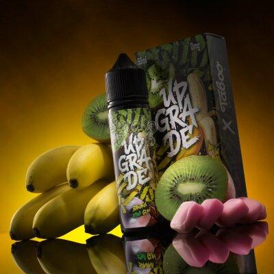 Upgrade (ElectroJam/Taboo) - Banana Kiwi Gum 60мл (0мг)
