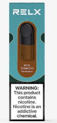 Картриджи RELX PRO - Rich Tobacco 5% (2 штуки)