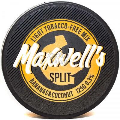 Бестабачная кальянная смесь MAXWELLS - Split 125г (0.3%)