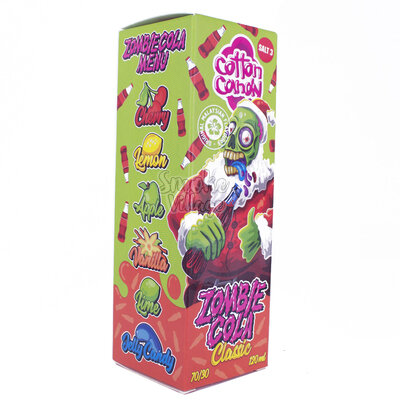 Cotton Candy - Zombie Cola Classic 3mg (120ml)