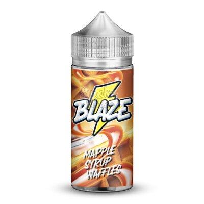 BLAZE Mapple Syrup Waffles