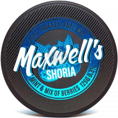 Бестабачная кальянная смесь MAXWELLS - SHORIA 125г (0.3%)