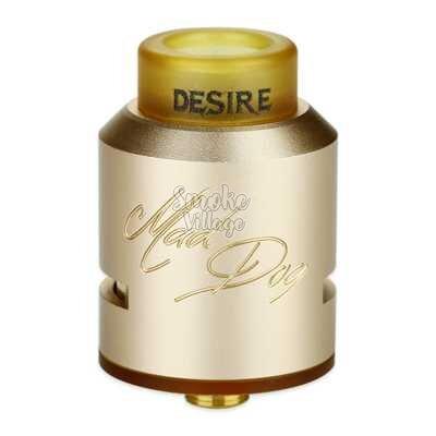 Атомайзер Desire Mad Dog RDA (Золотой) Clone