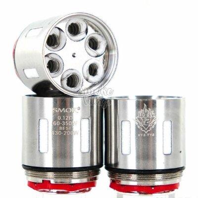 Сменный испаритель SmokTech Smok V12-T12 (0,12 Ohm)