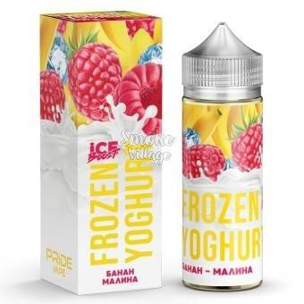 Frozen Yoghurt (Ice Boost) - Банан - Малина 120ml (0mg)