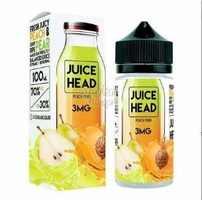 Жидкость Juice Head Peach Pear 100ml (3mg)