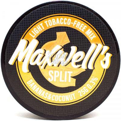 Бестабачная кальянная смесь MAXWELLS - Split 25г (0.3%)