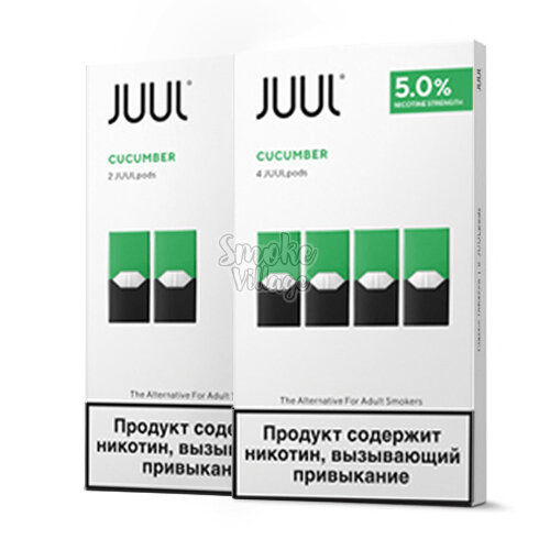 Картридж JUUL Cucumber 5мг