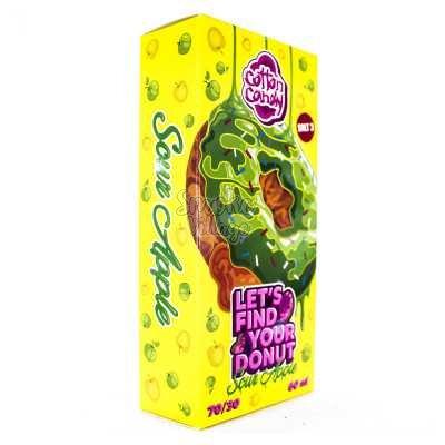 Cotton Candy Lets Find Your Donut Sour Apple Salt 120мл (3мг)