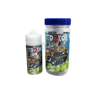 Cotton Candy LEDOKOL Green Apple 100мл (0-3мг)