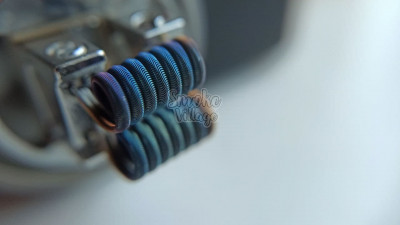 Спирали Hot Coils Corrugated Fused (0.4мм + плоский кантал + 0.12мм, кантал/кантал/нихром - 2 шт.)