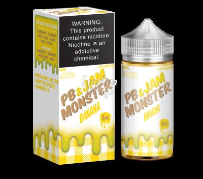 PB & Jam Monster Banana 100 мл (3 мг)