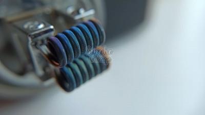 Спирали Hot Coils Corrugated Fused (0.4мм + плоский нихром + 0.12мм, нержавейка/нихром/нихром - 2 шт.)
