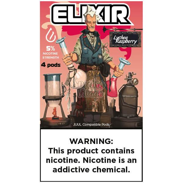 Картриджи Elixir Lychee Raspberry