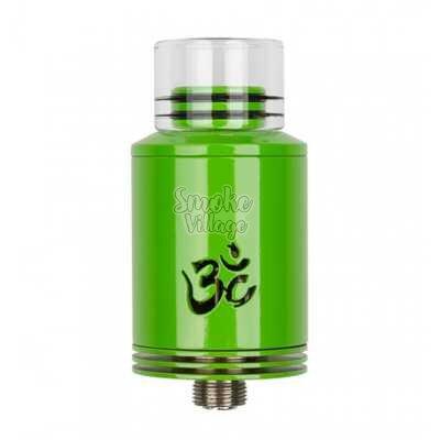 Атомайзер Ohm Nation Turbo v2 RDA (Зеленый) Clone