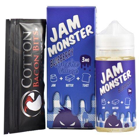 Жидкость Jam Monster Blueberry 100мл (3мг)