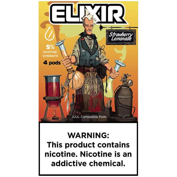 Картриджи Elixir Strawberry Lemonade