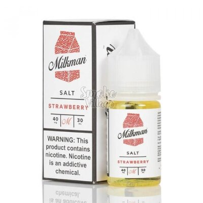 The Milkman Salt - Strawberry 30ml (40mg)