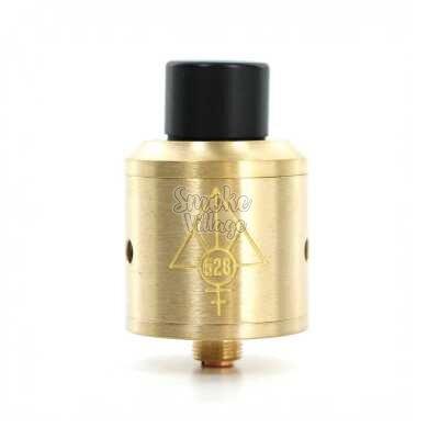 Атомайзер 528 Custom Vapes Goon RDA (Золотой) Clone