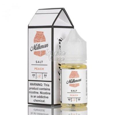 The Milkman Salt - Peach 30ml (40mg)