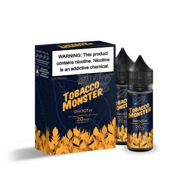 Tobacco Monster Salt - Smooth 30мл (40/60мг)