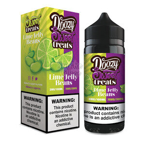 Doozy Sweet treats - Lime Jelly Beans 100 мл (3мг)