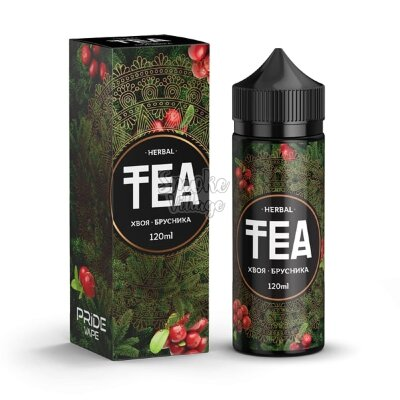 TEA Herbal Хвоя - Брусника 120ml (0mg)