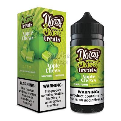 Doozy Sweet treats - Apple Chews 100 мл (3мг)