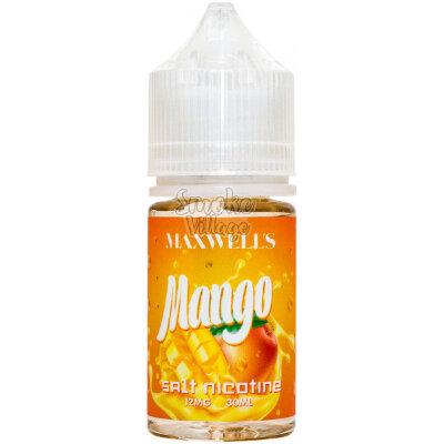 Жидкость Maxwell's Salt Mango 30мл