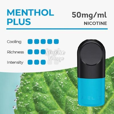 Картриджи RELX PRO - Menthol Plus 5% (2 штуки)