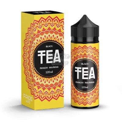 TEA Black Лимон - Малина 120ml (0mg)