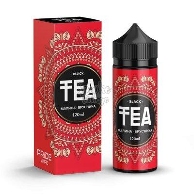 TEA Black Малина - Брусника 120ml (0mg)