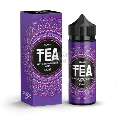 TEA Black Чёрная Смородина - Мята 120ml (0mg)