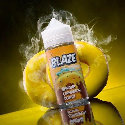 Жидкость Blaze Banana Cinnamon Donut 120мл (3мг)