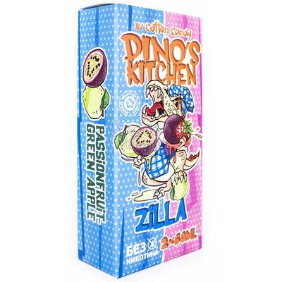 Cotton Candy Dinos Kitchen Zilla 120мл (0мг)