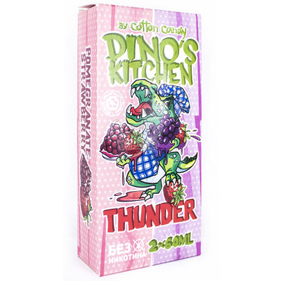Cotton Candy Dinos Kitchen Thunder 120мл (0мг)