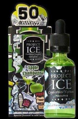 Project Ice 50ml Apple Champagne Salt (6 mg)