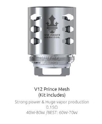 Испаритель SMOK TFV12 Prince MESH 0.15ohm COIL SL-2S145COIL(в упак. 3 шт.)