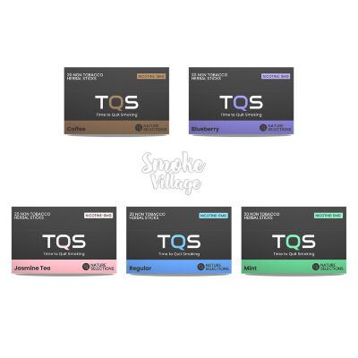 TQS 20 Non-Tobacco Herbal Sticks (2 вкуса)