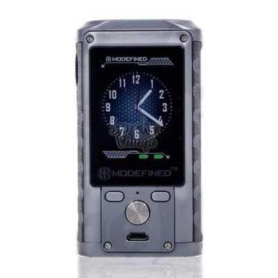 Боксмод LostVape Modefined Draco 200W (Стальной)