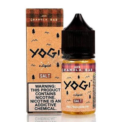Yogi Salt - Java Granola Bar 30ml (35/50 mg)